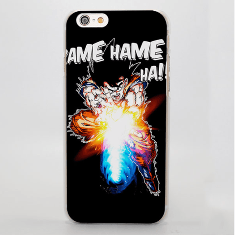 Dragon Ball Goku Kamehameha Dope Art Graphic iPhone 4 5 6 7 Plus Case