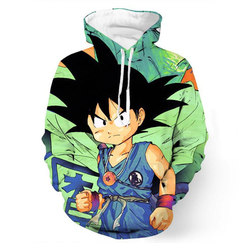 Dragon Ball Goku Kid Necklace Namekian Kami Cool Design Dope Hoodie