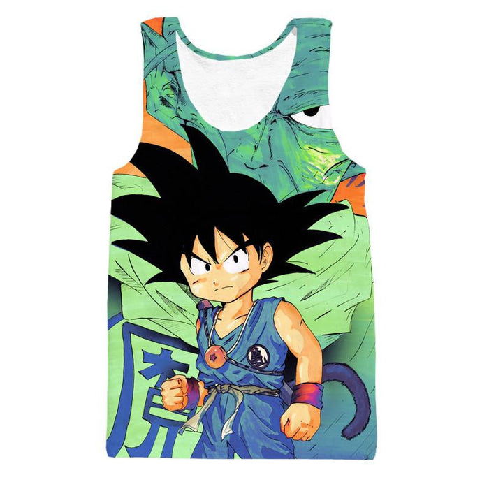 Dragon Ball Goku Kid Necklace Namekian Kami Cool Design Dope Tank Top