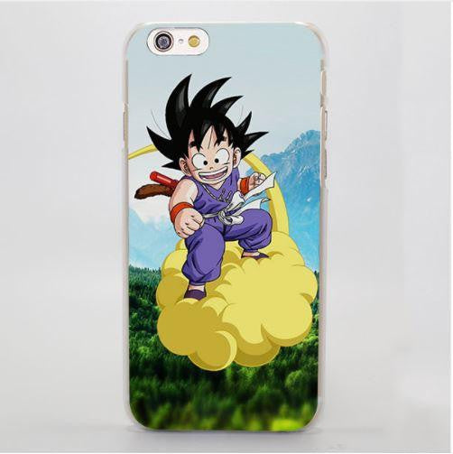 Dragon Ball Goku Kid Ride Nimbus Cloud Vibrant iPhone 4 5 6 7 Plus Case