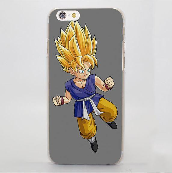 Dragon Ball Goku Kid Super Saiyan Simple Style iPhone 4 5 6 7 Plus Case