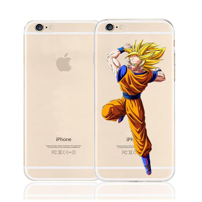 Dragon Ball Goku Super Saiyan Character Back Cover for iPhone 6 6s Plus