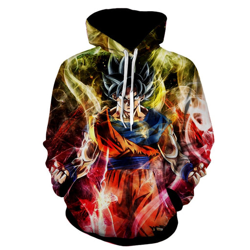 Dragon Ball Goku Super Saiyan God Ultra Instinct Hoodie