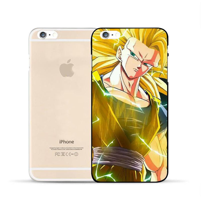 Dragon Ball Goku Super Saiyan SSJ3 Xenoverse PC iPhone 5 6 7 s Plus Case