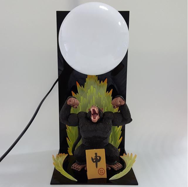 Dragon Ball Great Ape Monkey Moonlight Bedside Lamp - Saiyan Stuff