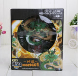 Dragon Ball Green & Golden Shenron 7 Crystal Balls Shelf Figure Set - Saiyan Stuff