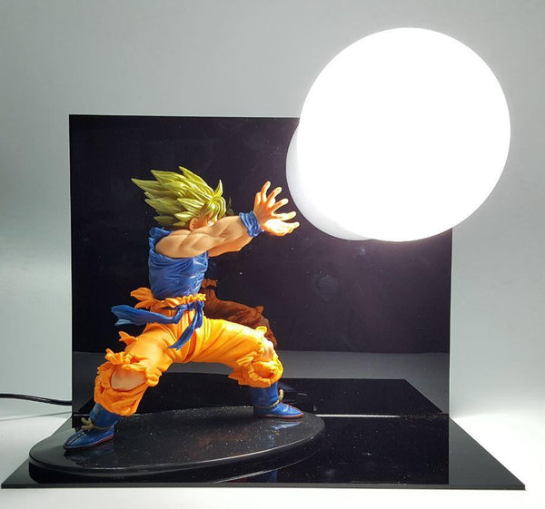 Dragon Ball Kamehameha Attack Super Saiyan Son Goku Diy