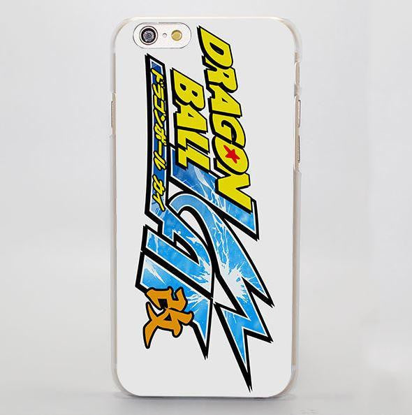 Dragon Ball Kanji Color Logo Simple Design iPhone 4 5 6 7 Plus Case
