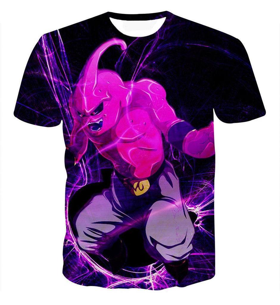 Dragon Ball Kid Buu Madness Destruction Dope Design Trending T-shirt