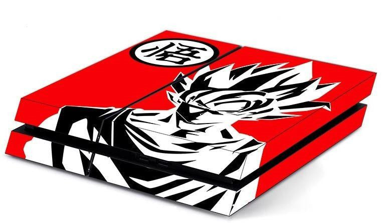 Dragon Ball King Kai Go Symbol Goku PS4 Decal Skin - Saiyan Stuff
