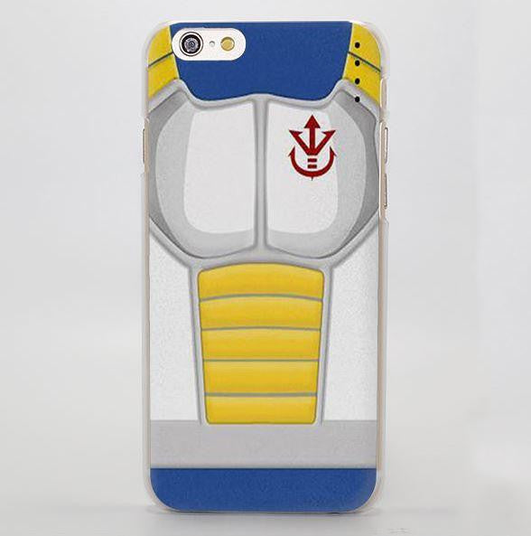 Dragon Ball King Vegeta Armor Symbol Design iPhone 4 5 6 7 Plus Case