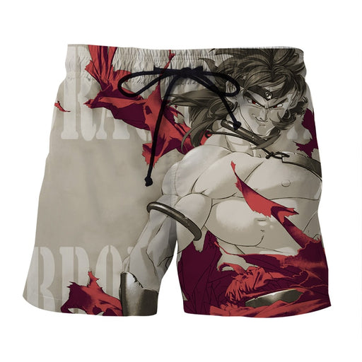 Dragon Ball Legendary Super Saiyan Broly Dope Gray Boardshort