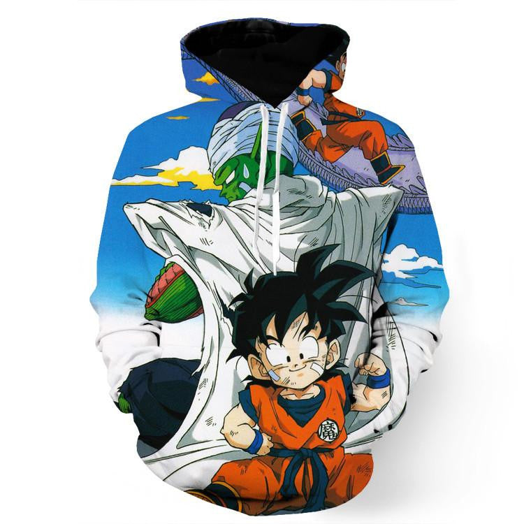 Dragon Ball Master Piccolo Train Cute Gohan Kid Funny Trending Design Hoodie