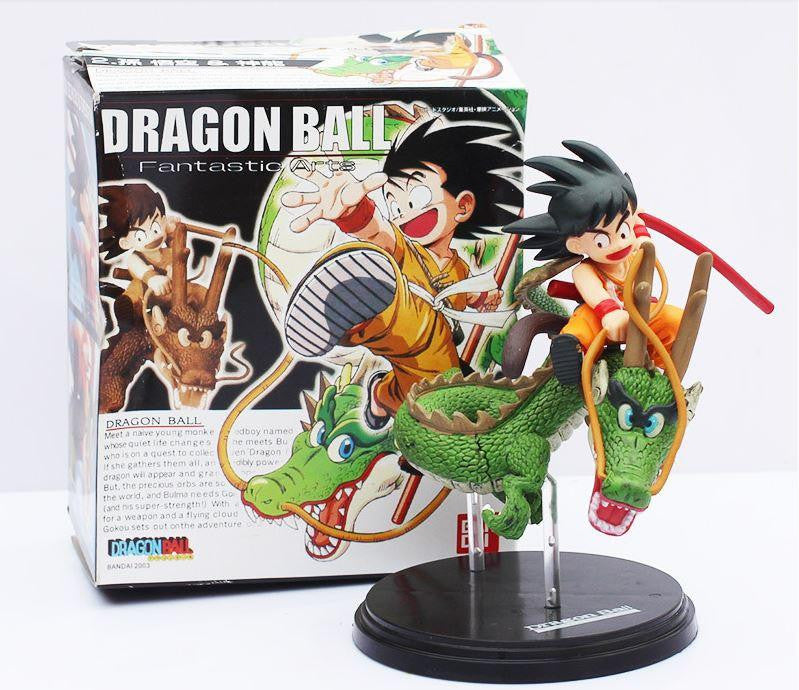 Dragon Ball Son Goku & Shenron Dragon Riding Action Figure 14cm - Saiyan Stuff - 1
