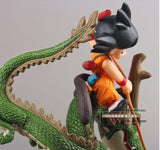 Dragon Ball Son Goku & Shenron Dragon Riding Action Figure 14cm - Saiyan Stuff