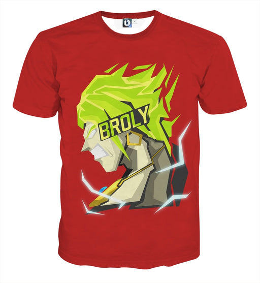 Dragon Ball Super Cool Legendary Broly Cool Vector Art T-Shirt