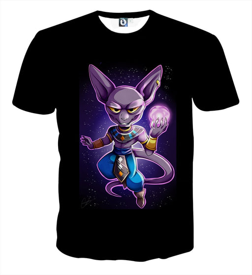 Dragon Ball Super Cute Adorable Chibi Lord Beerus T-Shirt