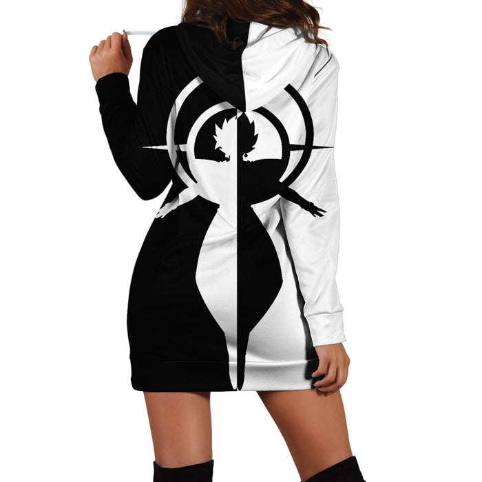 Dragon Ball Super Fused Zamasu Barrier of Light Hoodie Dress