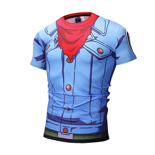 Dragon Ball Super Future Trunks Body Outfit Compression T-Shirt