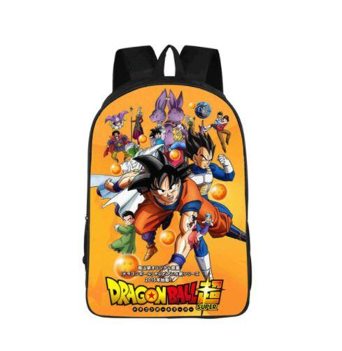 Dragon Ball Super Gods Poster Anime School Backpack Bag