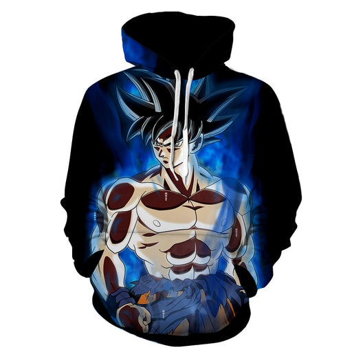 Dragon Ball Super Son Goku Ultra Instinct Cool Hoodie