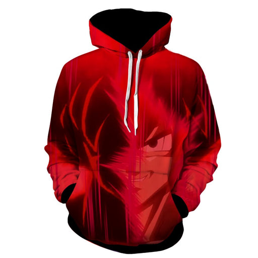 Dragon Ball Super Goku Red Kaioken Super Saiyan Epic Hoodie