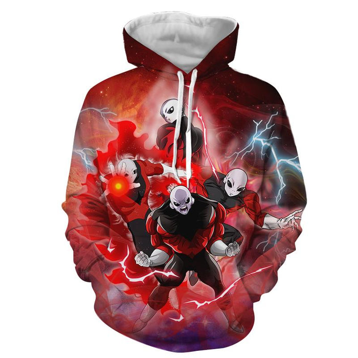 Dragon Ball Super Jiren Super Aggressive Vibrant 3D Hoodie