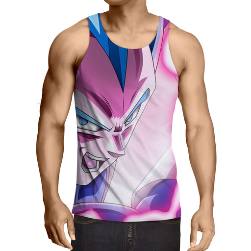 Dragon Ball Super Saiyan God Vegeta 2 Epic Summer Tank Top