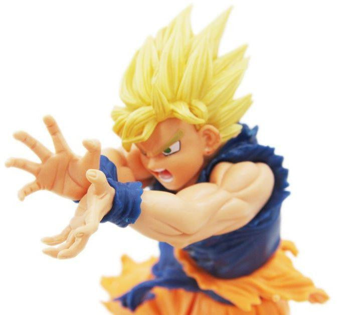 Dragon Ball Super Saiyan Son Goku Kamehameha Action Figure 17cm - Saiyan Stuff - 1