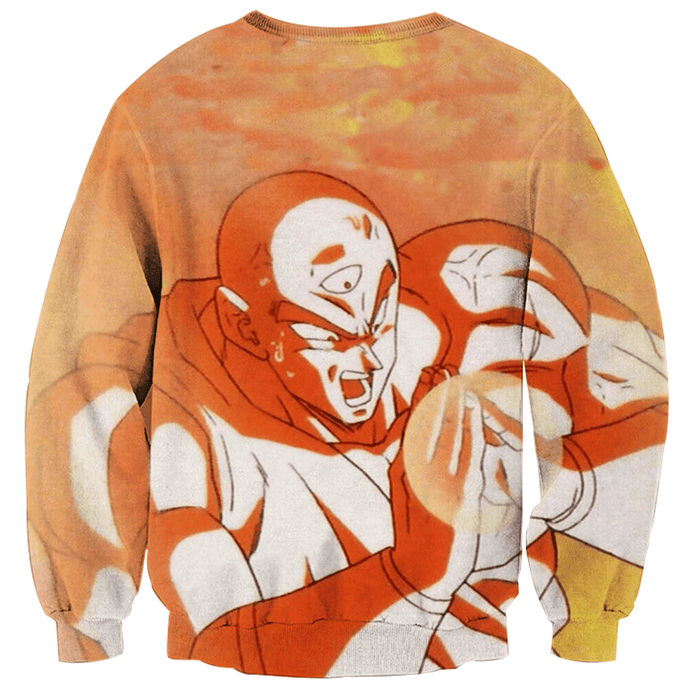Dragon Ball Tien Shinhan Fighting Amazing Powerful Sweatshirt