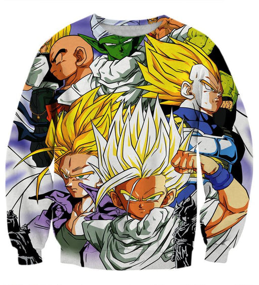 Dragon Ball Trunks Gohan Young Generation Super Saiyan Color Style Sweatshirt