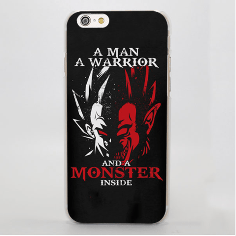 Dragon Ball Vegeta Great Ape Monster Within Dope iPhone 4 5 6 7 Plus Case