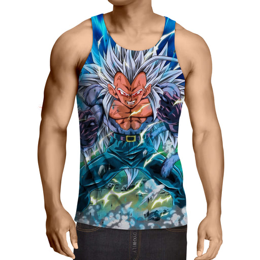 Dragon Ball Vegeta Super Saiyan 4 Ultra Instinct Gym Tank Top