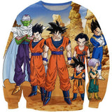 Dragon Ball Z-Fighters Team Earth's Special Forces Sweatshirt - Saiyan Stuff - 1