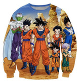 Dragon Ball Z-Fighters Team Earth's Special Forces Sweatshirt - Saiyan Stuff - 2