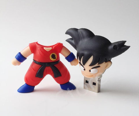 Dragon Ball Z - Goku Cute USB Flash Drive 4GB 8GB 16GB 32GB - Saiyan Stuff - 1