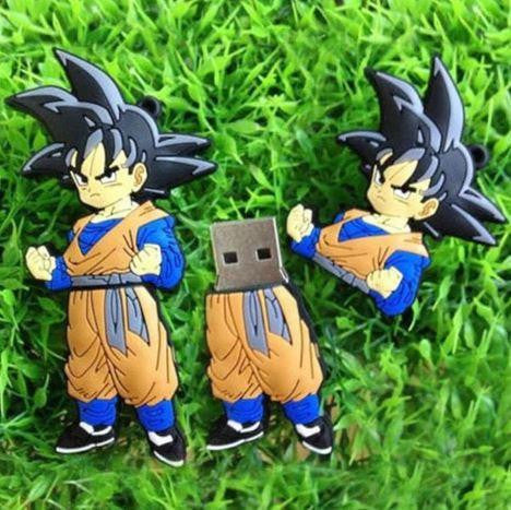 Dragon Ball Z - Goten Fun USB Flash Drive 4GB 8GB 16GB 32GB - Saiyan Stuff - 1