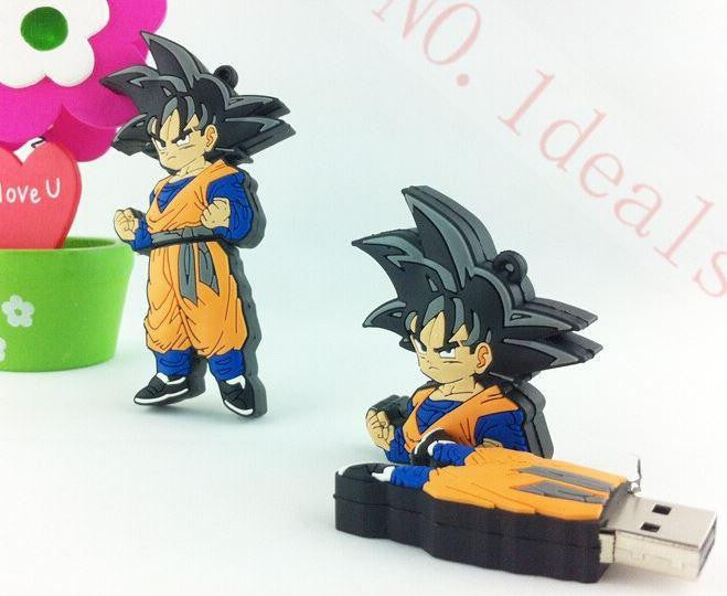 Dragon Ball Z - Goten Fun USB Flash Drive 4GB 8GB 16GB 32GB - Saiyan Stuff