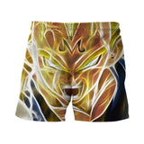 Dragon Ball Z - Super Saiyan Majin Vegeta 3D Summer Shorts - Saiyan Stuff