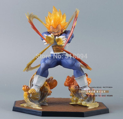 Dragon Ball Z - Super Saiyan Vegeta Action Figure 15cm Battle Edition - Saiyan Stuff