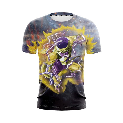 Dragon Ball Z Angry Frieza In His Golden Armor Form T-Shirt