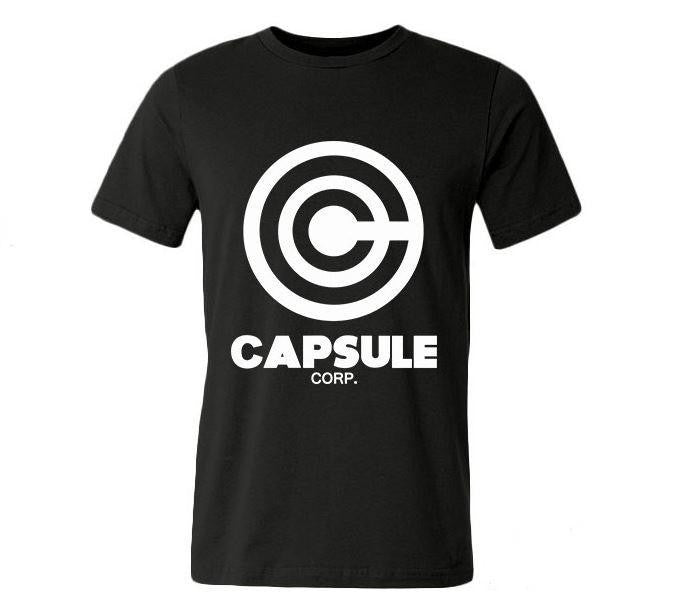 Dragon Ball Z Capsule Corp Casual Men T-Shirt - Saiyan Stuff