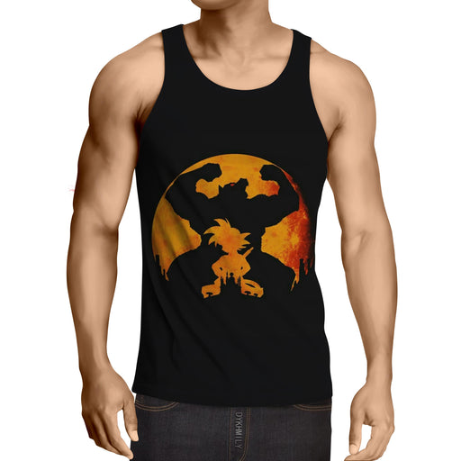 Dragon Ball Z Cool Kid Goku & Great Ape Evolution Tank Top