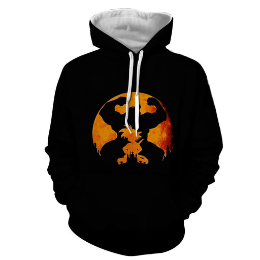 Dragon Ball Z Cool Shadow Kid Goku Great Ape Evolution Hoodie