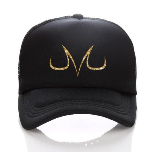 Dragon Ball Z Demon Mark Majin Buu Vegeta Symbol Baseball Trucker Hat