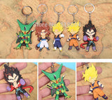 Dragon Ball Z Figures Keychains Pendants 5pcs / Set - Saiyan Stuff - 1