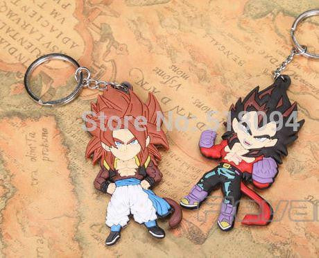 Dragon Ball Z Figures Keychains Pendants 5pcs / Set