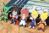 Dragon Ball Z Figures Keychains Pendants 5pcs / Set - Saiyan Stuff - 4