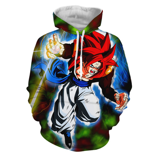 Dragon Ball Z Gogeta In His Epic Super Saiyan 4 Form Hoodie
