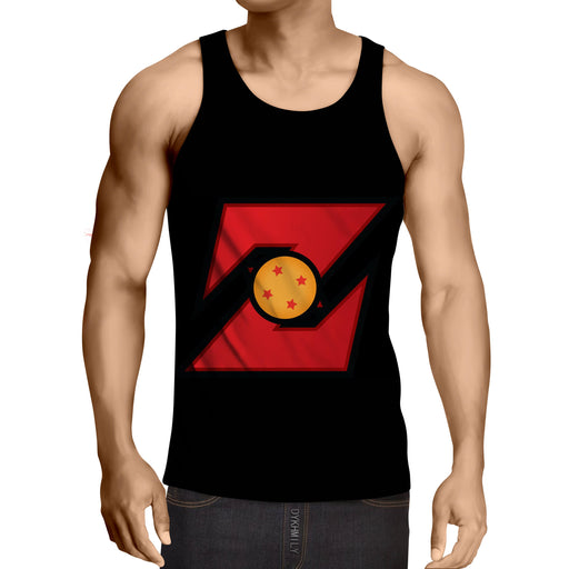 Dragon Ball Z Logo 4 Star Dragon Ball Cool Design Tank Top